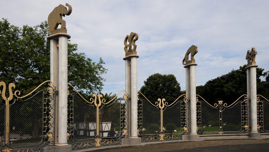 historische entree Diergaarde Blijdorp