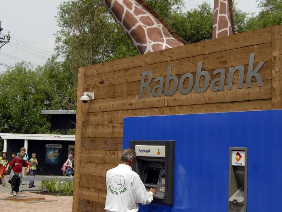 giraf pinautomaat Rabobank