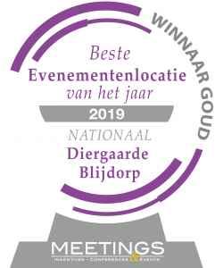 award beste evenementenlocatie van Nederland 2019