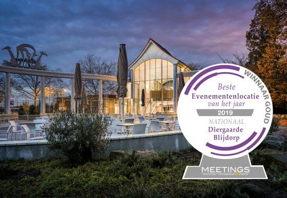 Eventlocatie Poort van Azië met award voor beste evenementenlocatie 2019