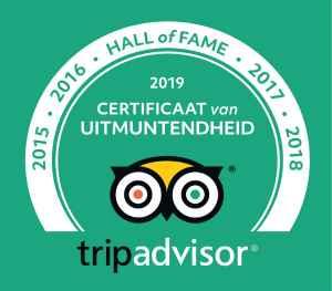 tripadvisor certificaat van uitmuntendheid 2019