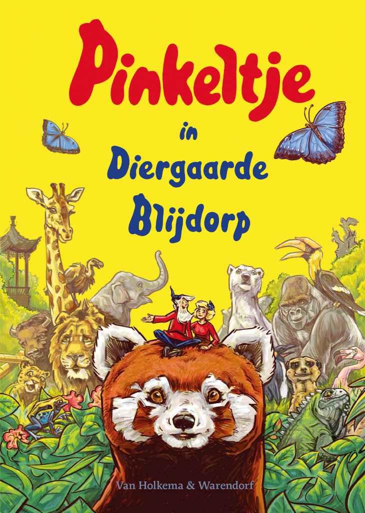 boek Pinkeltje in Diergaarde Blijdorp