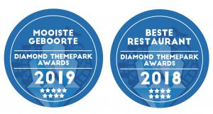awards voor beste diergeboorte en beste restaurant