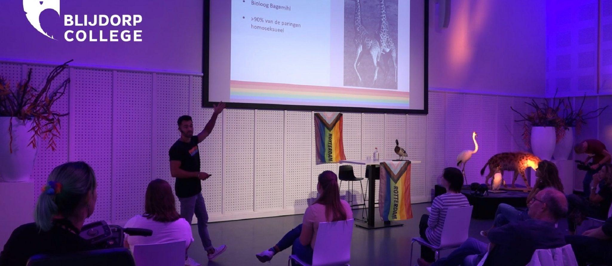 Blijdorp-college over seksuele diversiteit