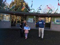 familie Haazer steunt Diergaarde Blijdorp